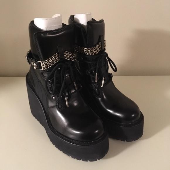 pretty nice 8f39a a9f24 Fenty Puma by Rihanna Platform Boots